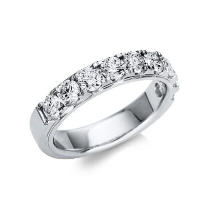 18 kt fehérarany félig köves eternity 9 gyémánttal 1U249W855-1