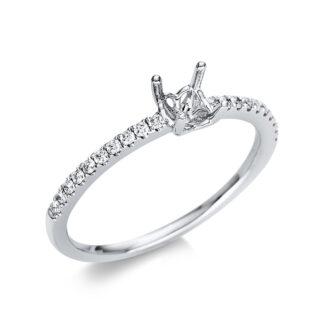 18 kt fehérarany foglalat 20 gyémánttal 1Q365W854-1