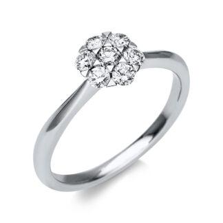 18 kt fehérarany illúzió 7 gyémánttal 1T817W854-1