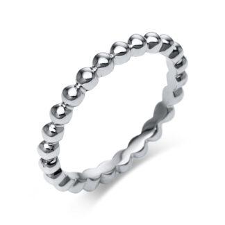 18 kt fehérarany karikagyűrű  1M984W853-1
