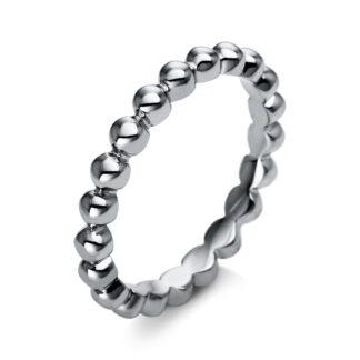 18 kt fehérarany karikagyűrű  1N786W853-1