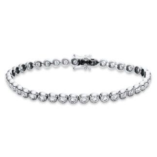 18 kt fehérarany karkötő 39 gyémánttal 5B772W8-2