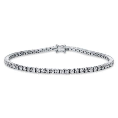 18 kt fehérarany karkötő 63 gyémánttal 5B929W8-1