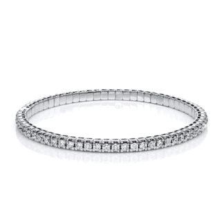 18 kt fehérarany karkötő 65 gyémánttal 5A914W8-28
