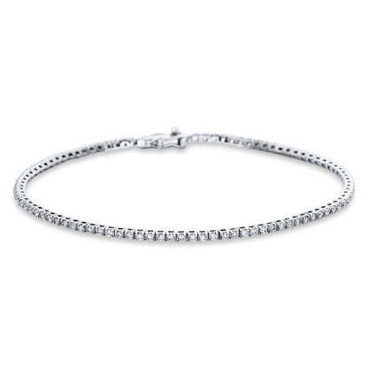 18 kt fehérarany karkötő 90 gyémánttal 5B826W8-2