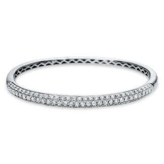 18 kt fehérarany karperec 97 gyémánttal 6A324W8-6