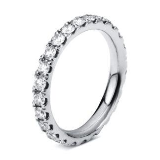18 kt fehérarany körbe köves eternity 25 gyémánttal 1C337W853-1