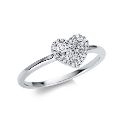 18 kt fehérarany pavé 47 gyémánttal 1U631W854-2