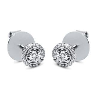 18 kt fehérarany steckeres 32 gyémánttal 2H053W8-1
