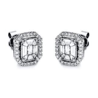 18 kt fehérarany steckeres 70 gyémánttal 2F047W8-2