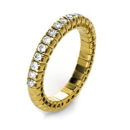 18 kt V arany félig köves eternity 17 gyémánttal 1J210G854-3