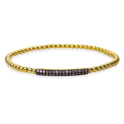 18 kt sárga arany karkötő 32 gyémánttal 5A011G8-1