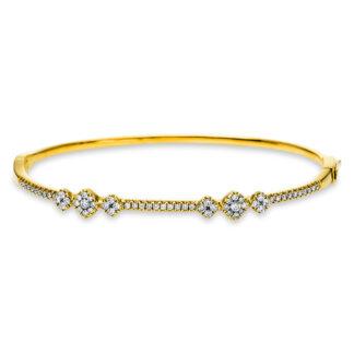 18 kt V arany karperec 64 gyémánttal 6A579G8-1