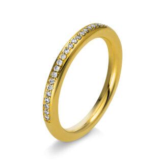 18 kt sárga arany körbe köves eternity 27 gyémánttal 1S301G855-1