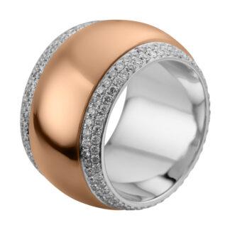 18 kt  több köves gyűrű 200 gyémánttal 1A718WR856-2
