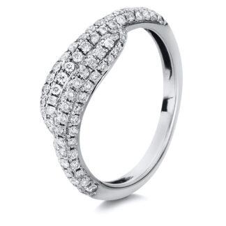 18 kt white gold multi stone with 108 diamonds 1A052W852-1