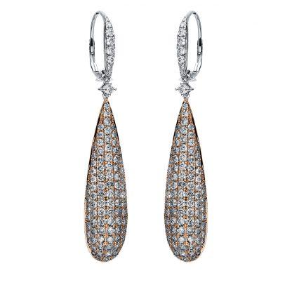 14 kt  earrings with 212 diamonds 2I866WR4-1