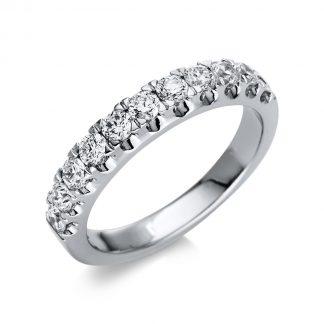 14 kt fehérarany félig köves eternity 11 gyémánttal 1U018W453-1