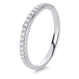 14 kt fehérarany félig köves eternity 17 gyémánttal 1A460W454-11