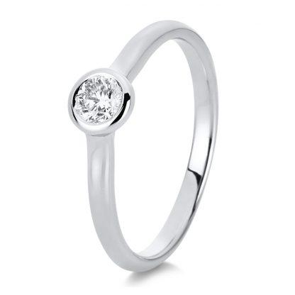 14 kt fehérarany szoliter 1 gyémánttal 1C518W454-1