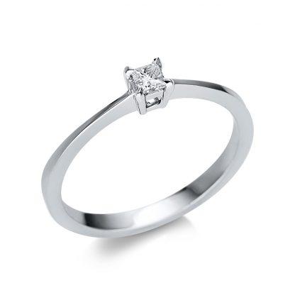 14 kt fehérarany szoliter 1 gyémánttal 1U596W452-1