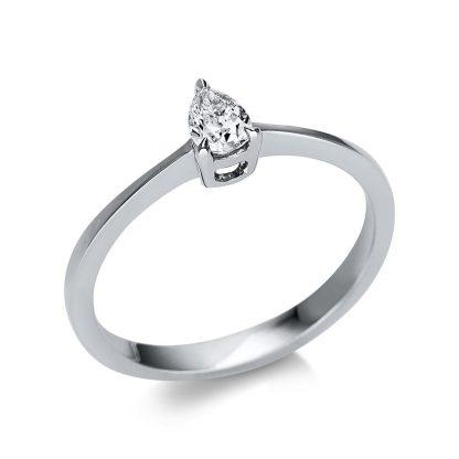 14 kt fehérarany szoliter 1 gyémánttal 1U599W452-1