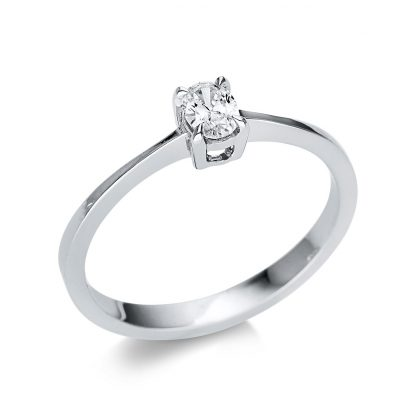 14 kt fehérarany szoliter 1 gyémánttal 1U608W452-1
