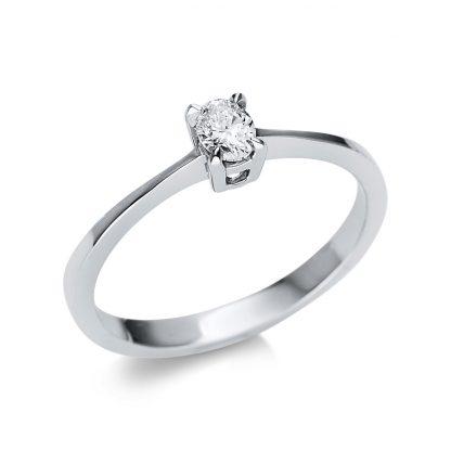 14 kt fehérarany szoliter 1 gyémánttal 1U609W452-1