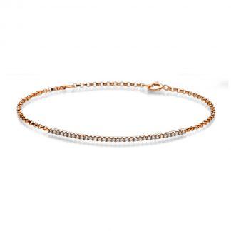14 kt red gold bracelet  5A025R4-2