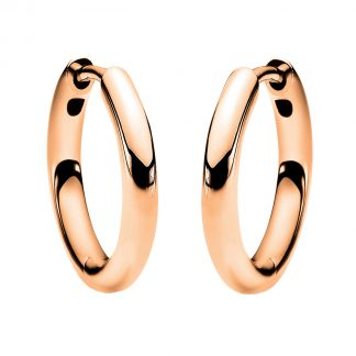 14 kt red gold hoops & huggies  2E544R4-4