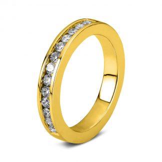 14 kt sárga arany félig köves eternity  1B843G452-1