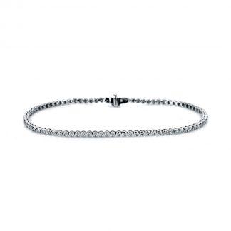 14 kt white gold bracelet with 84 diamonds 5A227W4-6