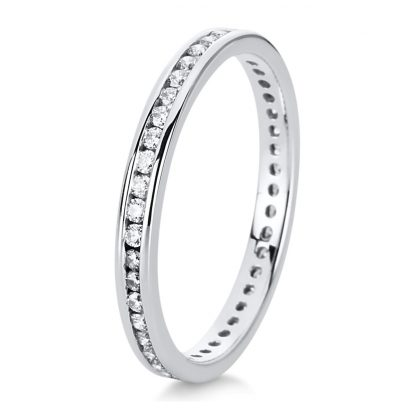 14 kt white gold eternity full with 45 diamonds 1C546W454-2