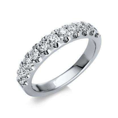 14 kt white gold eternity half with 11 diamonds 1U018W453-1