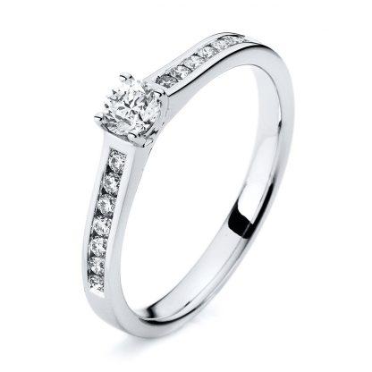 14 kt white gold multi stone with 15 diamonds 1A194W454-1