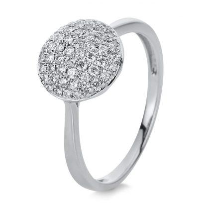 14 kt white gold pavé with 52 diamonds 1A436W454-2