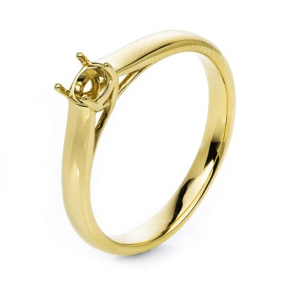 14 kt yellow gold mounting  1E352G454-2