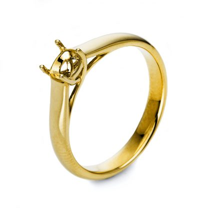 14 kt yellow gold mounting  1E354G453-1