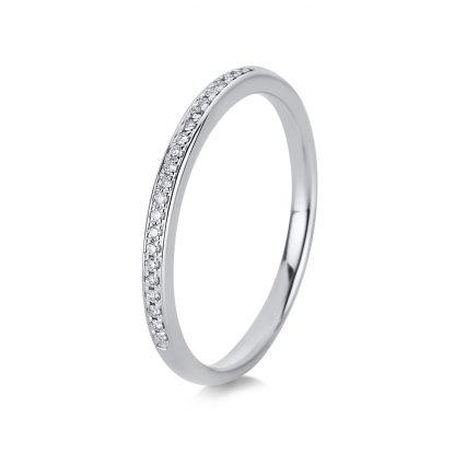 18 kt fehérarany félig köves eternity 13 gyémánttal 1G545W854-1