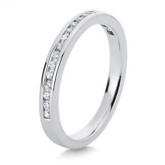 18 kt fehérarany félig köves eternity 19 gyémánttal 1B750W856-1