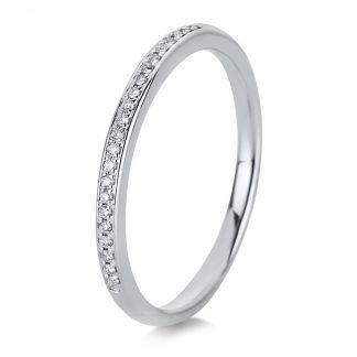 18 kt fehérarany félig köves eternity 22 gyémánttal 1A459W852-2