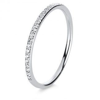18 kt fehérarany félig köves eternity 25 gyémánttal 1B819W851-4