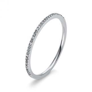 18 kt fehérarany félig köves eternity 33 gyémánttal 1M946W853-2
