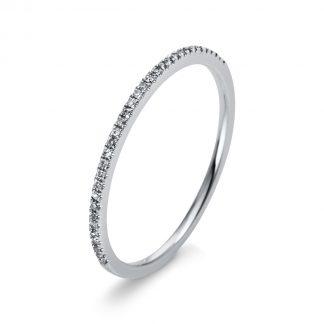 18 kt fehérarany félig köves eternity 33 gyémánttal 1M946W853-3