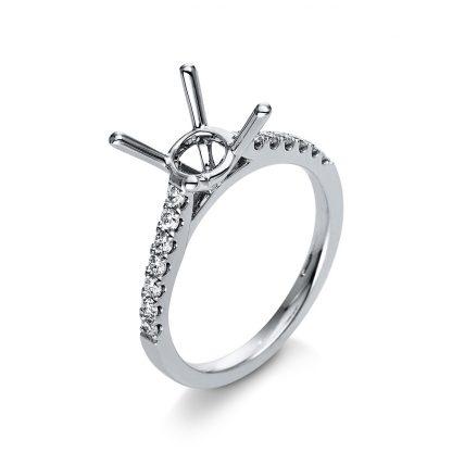 18 kt fehérarany foglalat 14 gyémánttal 1B047W853-3