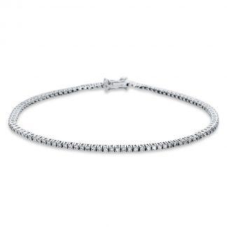 18 kt fehérarany karkötő 105 gyémánttal 5C000W8-1