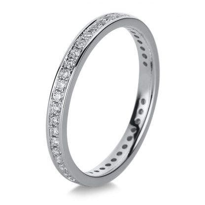 18 kt fehérarany körbe köves eternity 43 gyémánttal 1A473W853-1