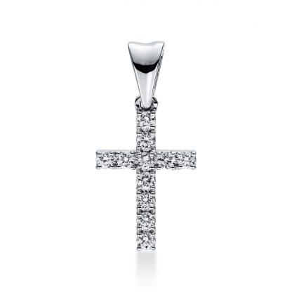 18 kt fehérarany medál 11 gyémánttal 3D812W8-1