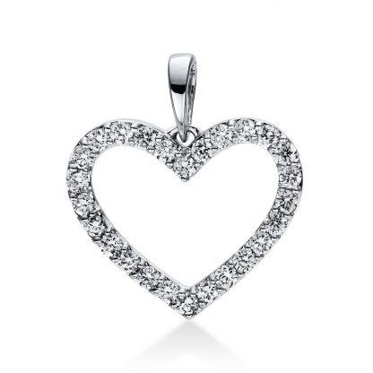 18 kt fehérarany medál 26 gyémánttal 3D767W8-4