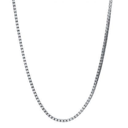 18 kt fehérarany nyaklánc 303 gyémánttal 4F511W8-1